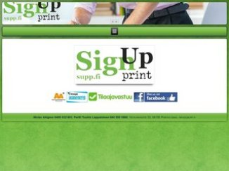 Sign Up Print Oy
