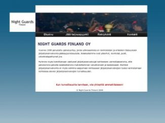 Night Guards Finland Oy