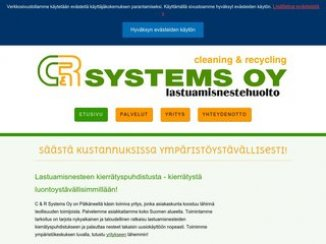 Cleaning & Recycling C & R Systems Oy