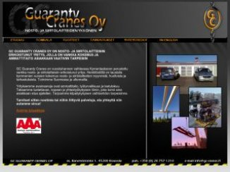 GC guaranty cranes Oy