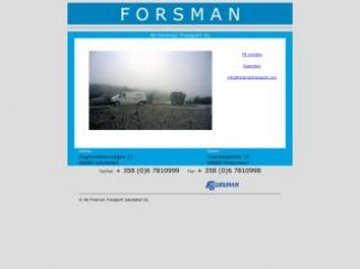 Ab Forsman Transport Jakobstad Oy