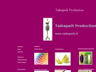 Taikapeili Production